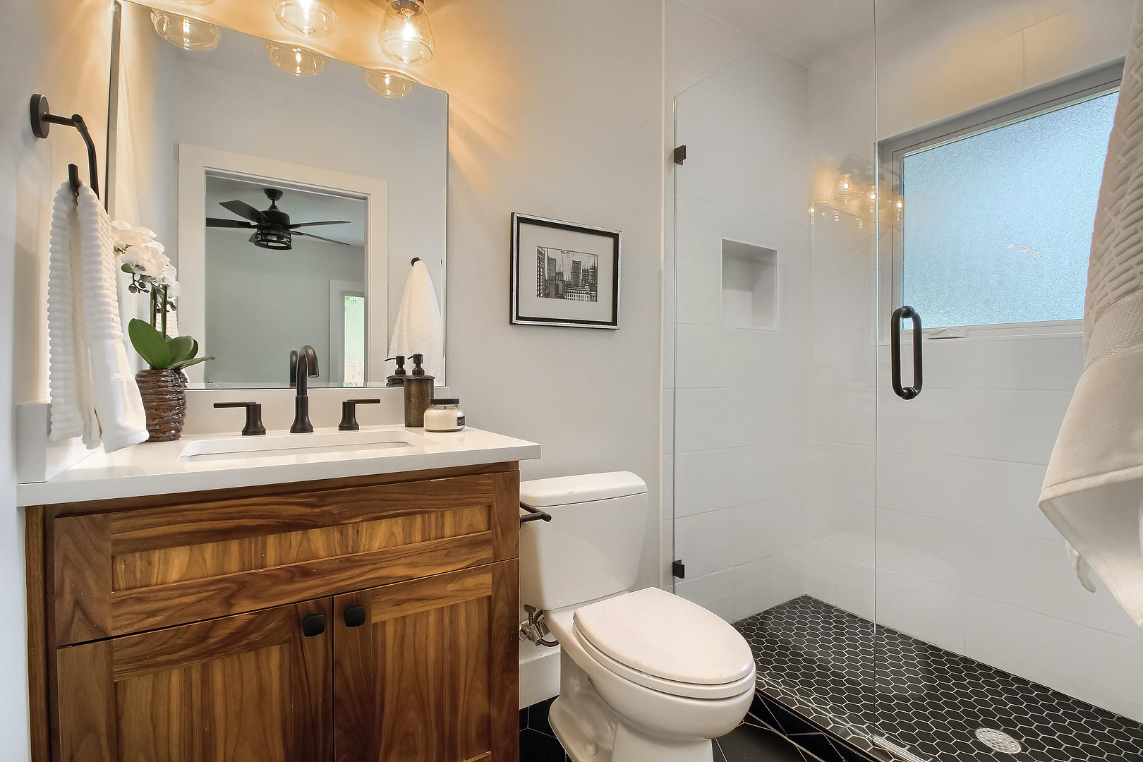 Home Renovation Guest Bathroom on West 29th in Austin, Texas