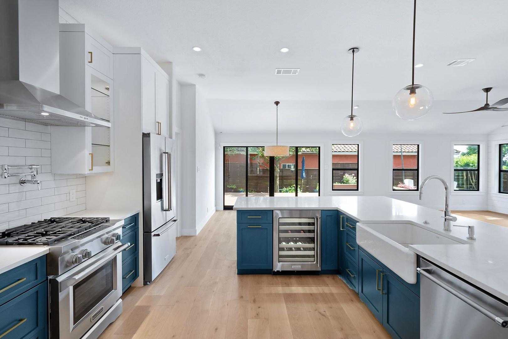Home Renovation Kitchen on Lost Horizon in Austin, TX