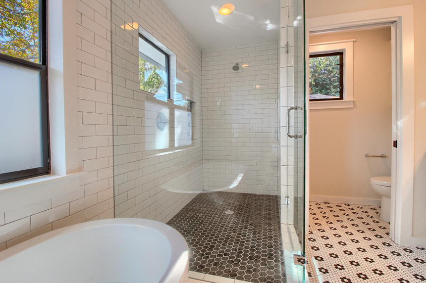 Home Renovation Master Bathroom on Bouldin in Austin, TX