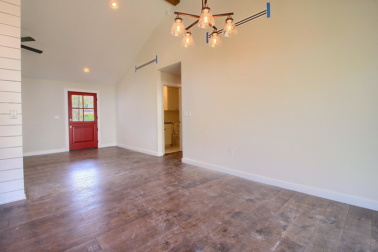 Home Renovation Dining Room on Bouldin in Austin, TX