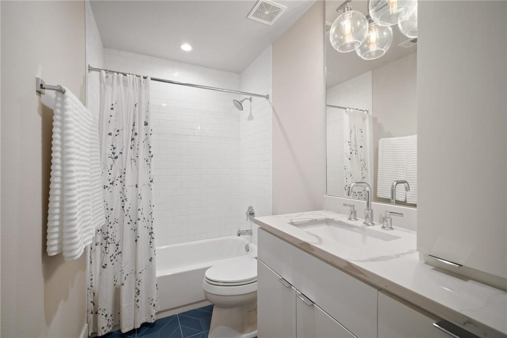 Guest Bathroom featured in the New Build on Grover Street in Austin, TX