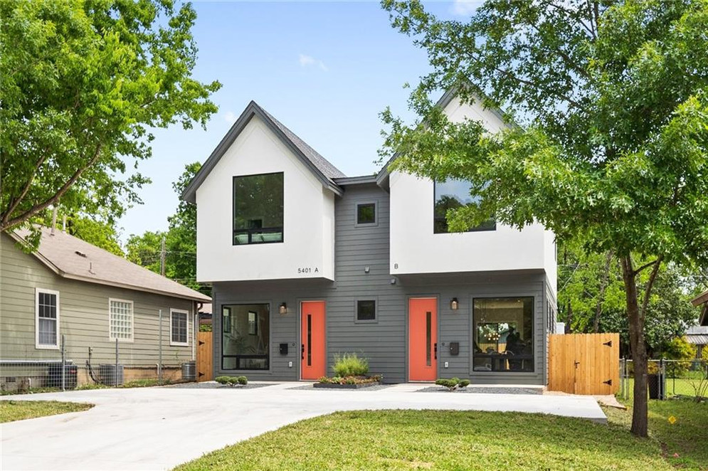 Duplex New Build on Grover Street in Austin, TX