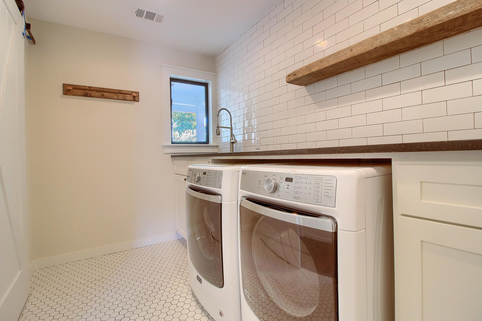 Home Renovation Laundry Room on Bouldin in Austin, TX
