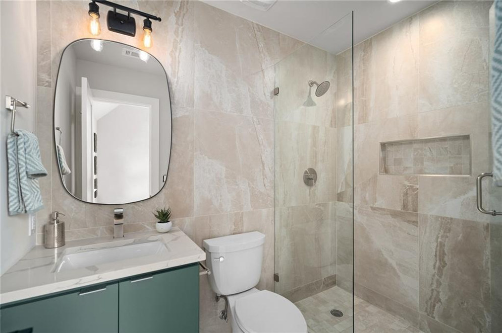 Master Bathroom featured in the New Build on Grover Street in Austin, TX