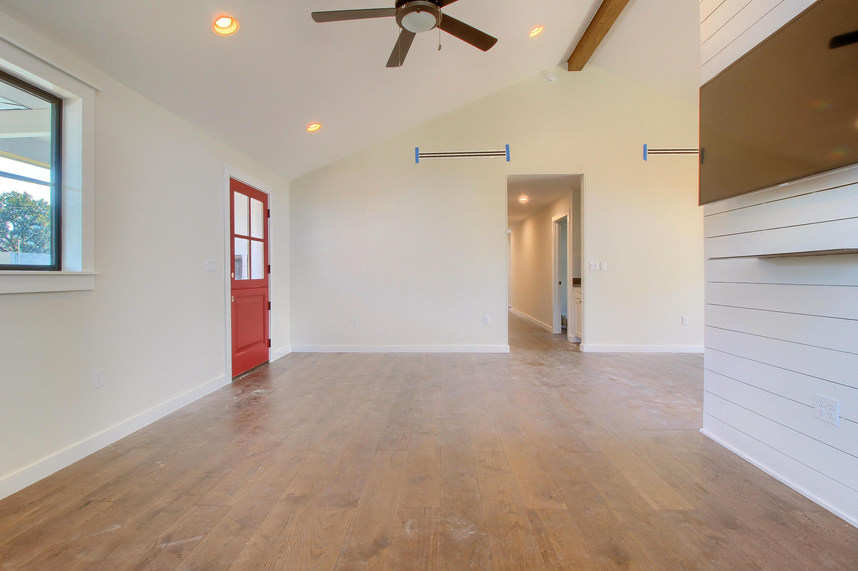 Home Renovation Open Floor Plan on Bouldin in Austin, TX