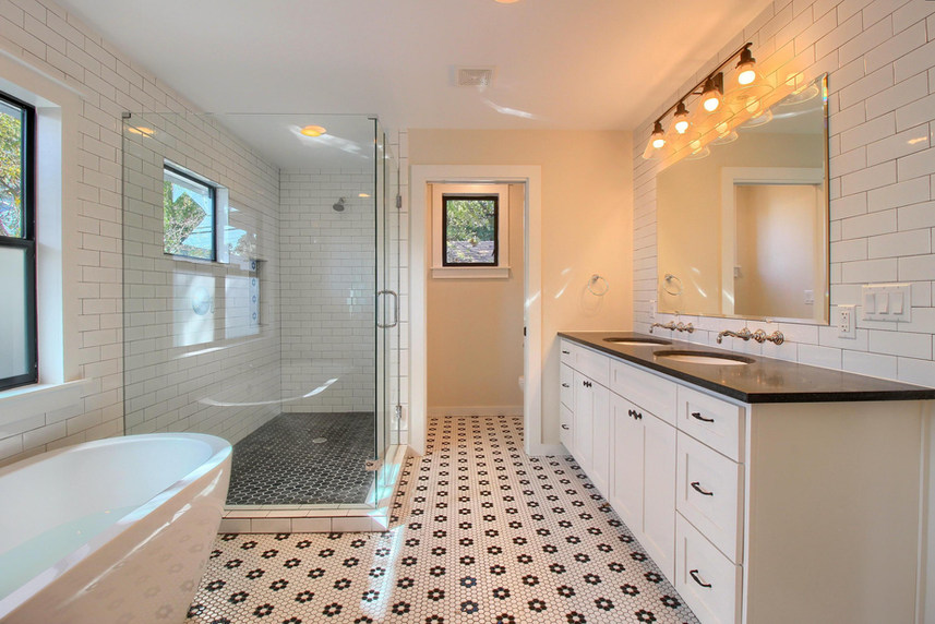 Home Renovation Full Master Bathroom on Bouldin in Austin, TX