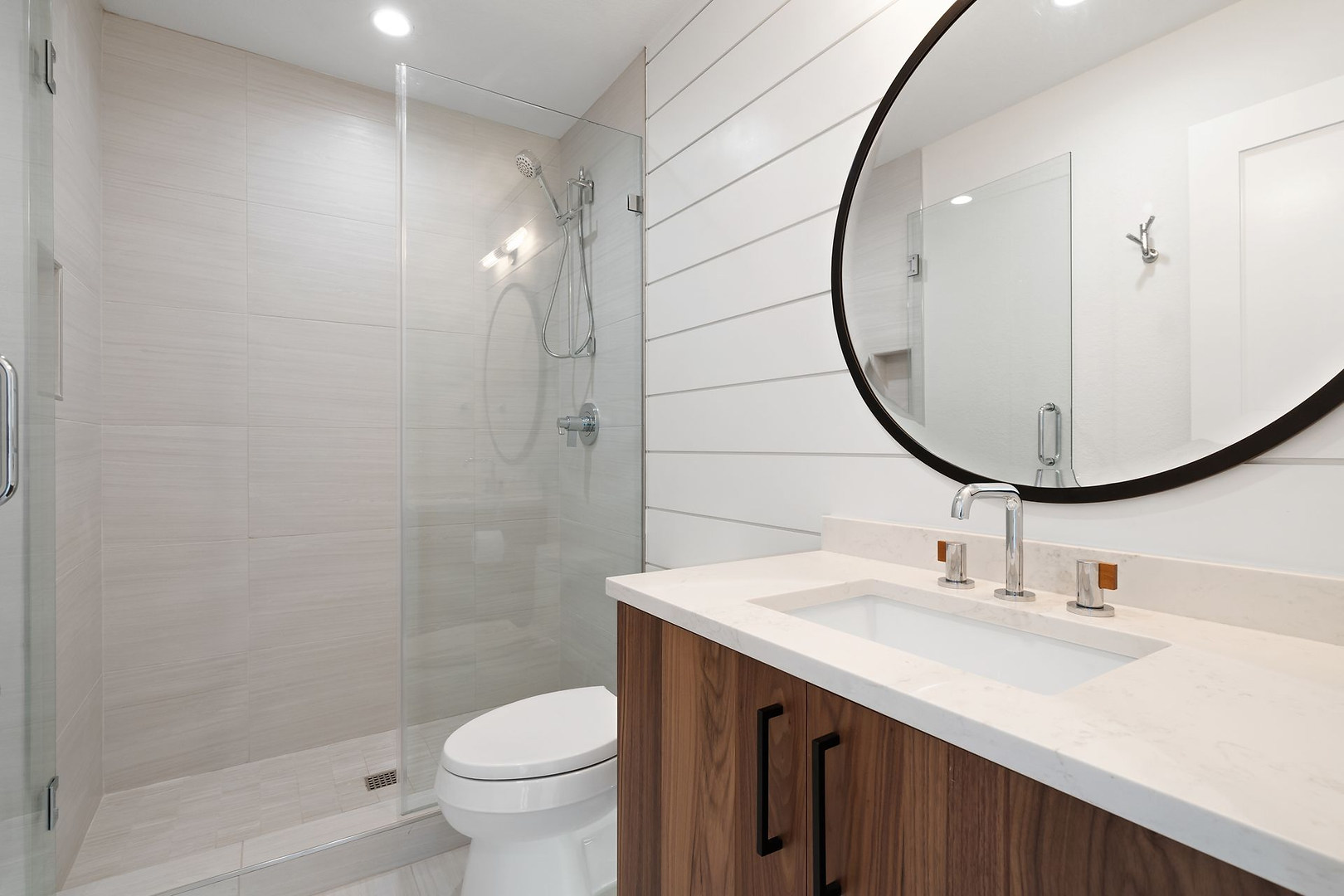 Home Renovation Guest Bathroom on Lost Horizon in Austin, TX