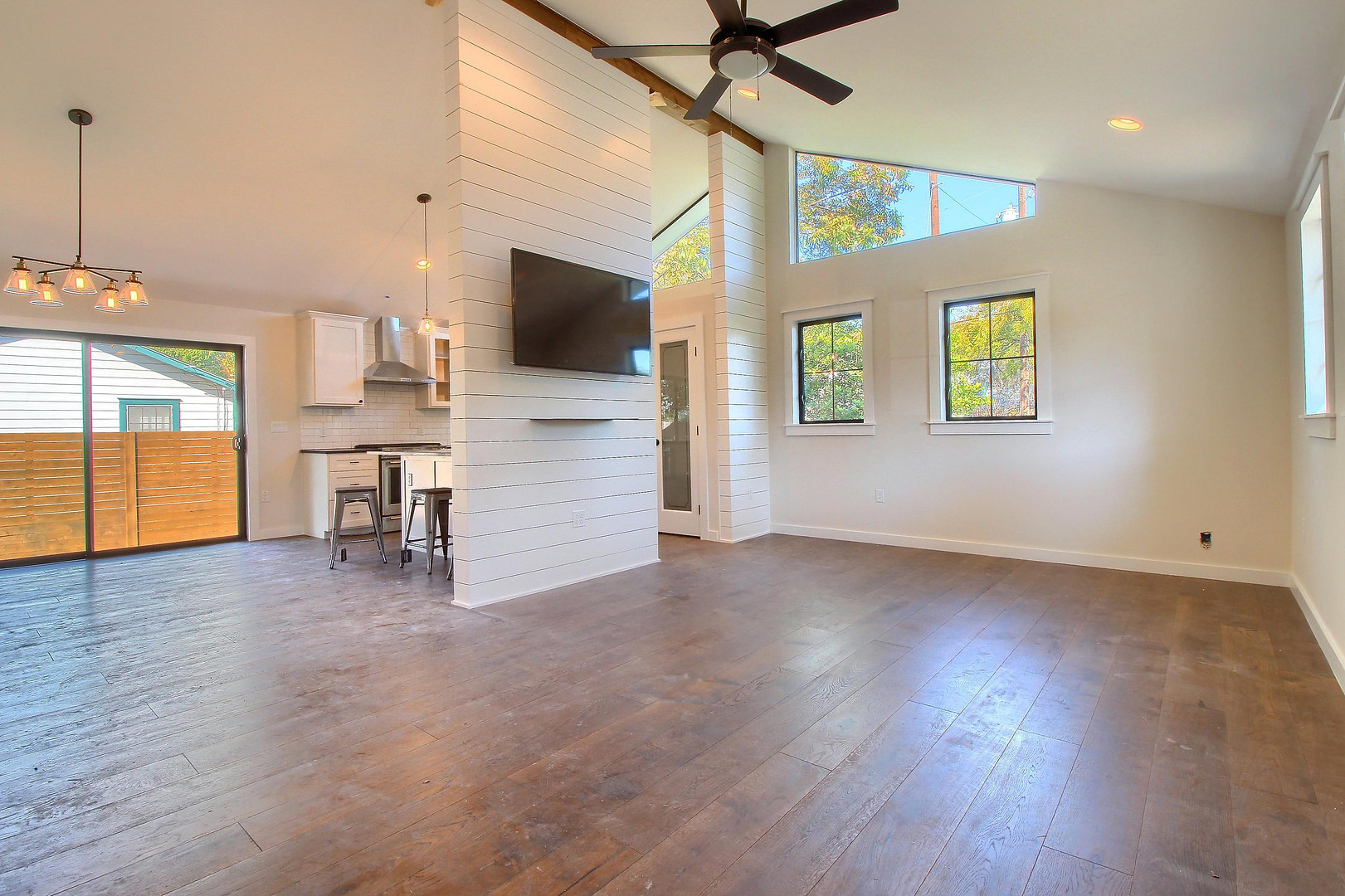 Home Renovation Accent Wall on Bouldin in Austin, TX