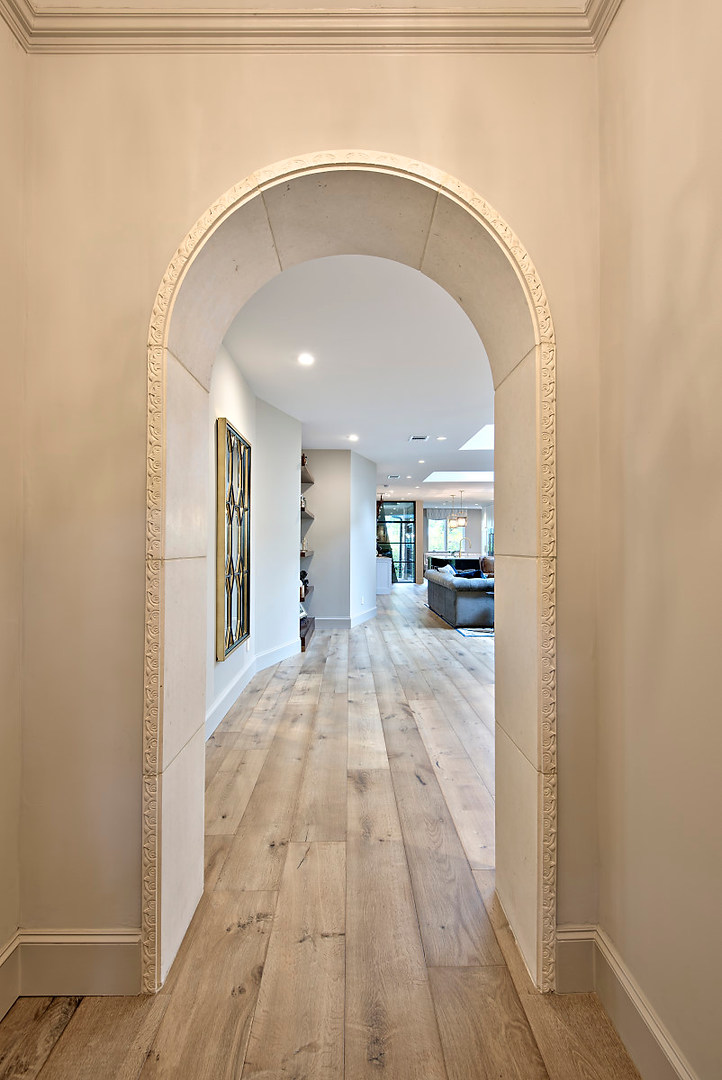 Hallway Historic Home Renovation in the Jarrett House in Austin, TX