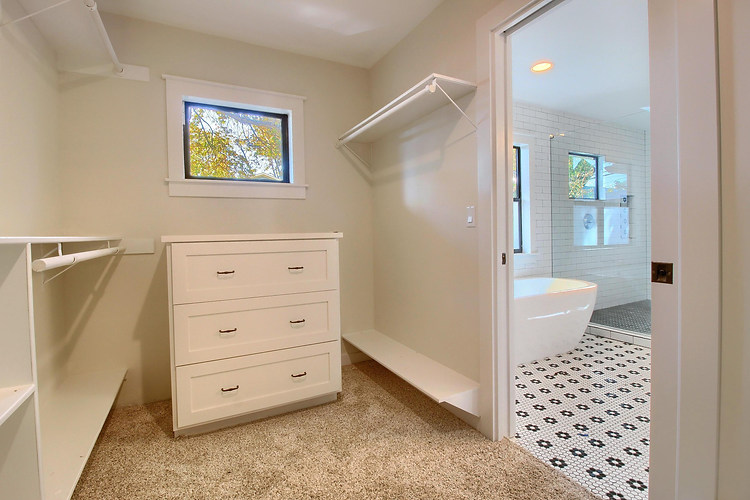 Home Renovation Master Closet on Bouldin in Austin, TX