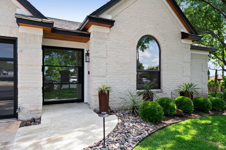 Home Renovation Front Door on Lost Horizon in Austin, TX