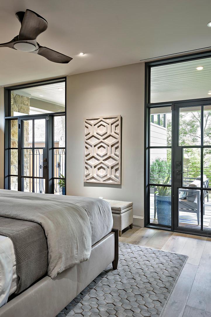 Historic Home Renovation Master Bedroom on Jarrett in Austin, TX