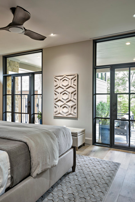Historic Home Renovation Master Bedroom on Jarrett in Austin, TX