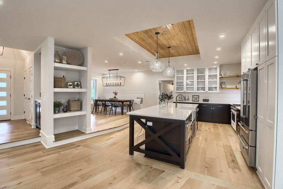 Home Renovation Large Open Floor plan on West 29th in Austin, Texas