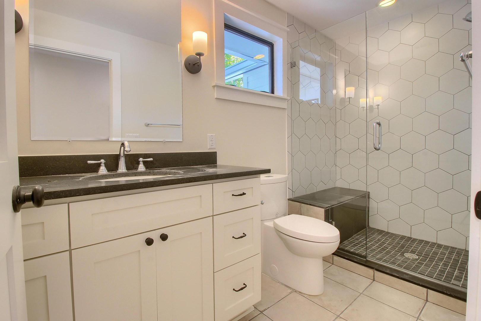 Home Renovation Guest Bathroom on Bouldin in Austin, TX