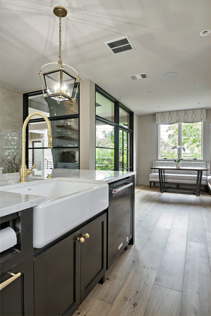 Historic Home Renovation Kitchen Features in the Jarrett House in Austin, TX