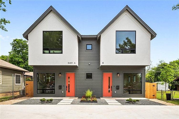 New build on Grover in Austin, TX