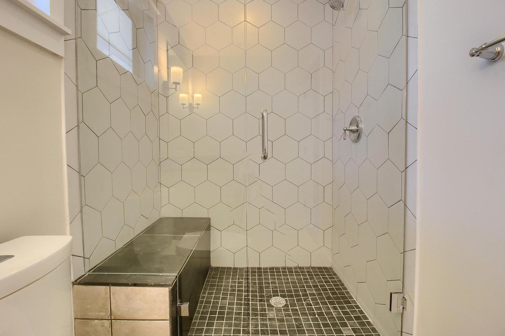 Home Renovation Walk In Shower on Bouldin in Austin, TX