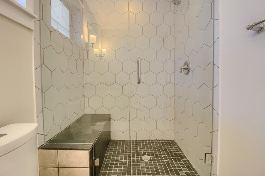 Home Renovation Walk In Shower on Bouldin in Austin, TX