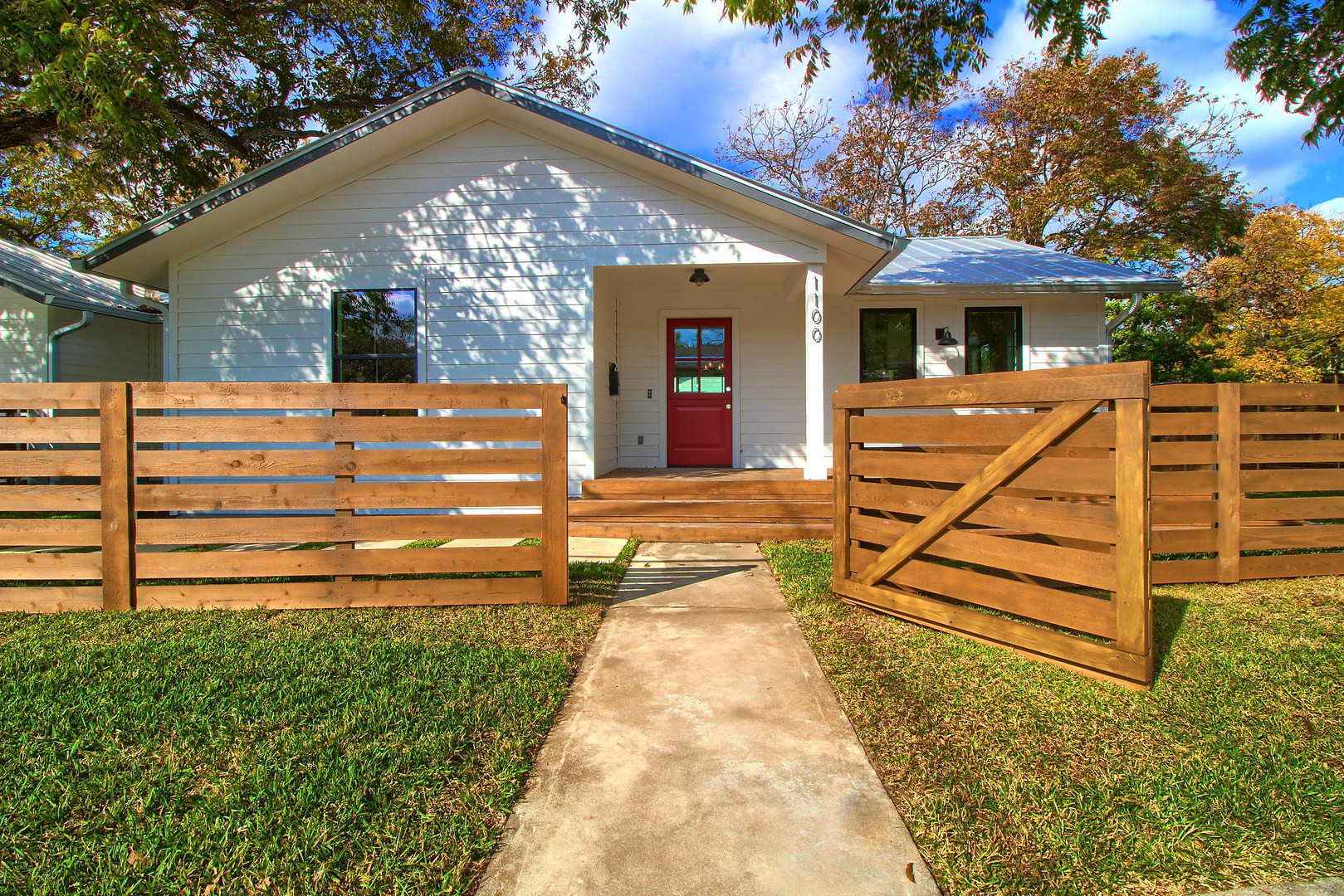 Front of the Home Renovation on Bouldin in Austin, TX