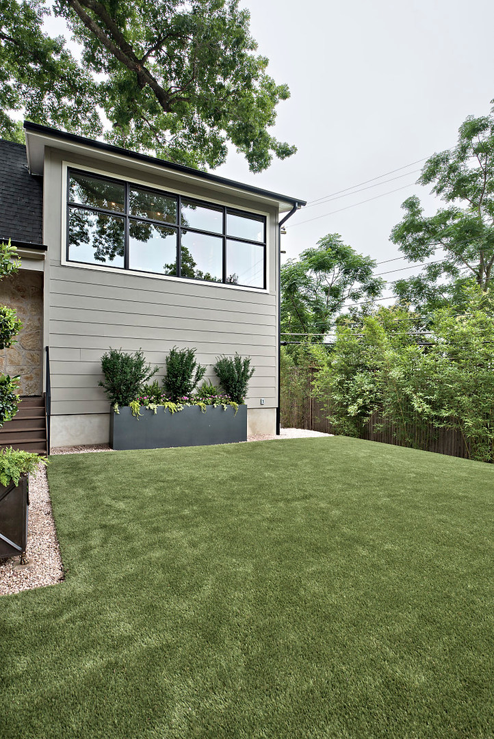 Historic Home Renovation Landscaping on Jarrett in Austin, TX