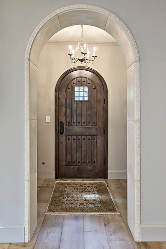 Entryway Historic Home Renovation in the Jarrett House in Austin, TX