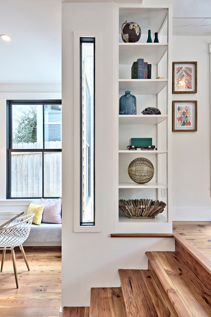 Historic Home Renovation Corner Cabinetry in West 11th in Austin, Texas