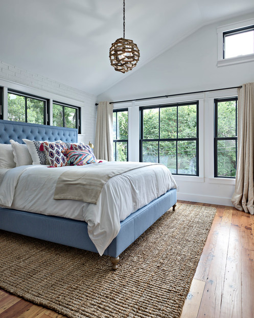Historic Home Renovation Master Bedroom in West 11th in Austin, Texas