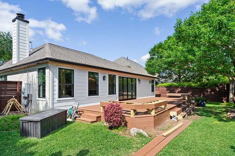 Home Renovation Backyard on Lost Horizon in Austin, TX