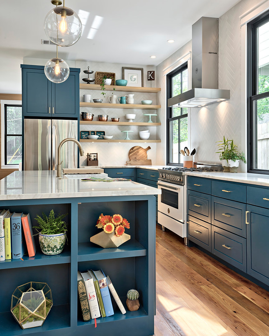 The Historic Home Renovation Kitchen in West 11th in Austin, Texas