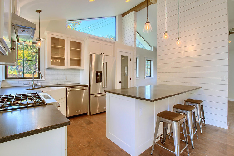 Home Renovation Custom Cabinetry on Bouldin in Austin, TX