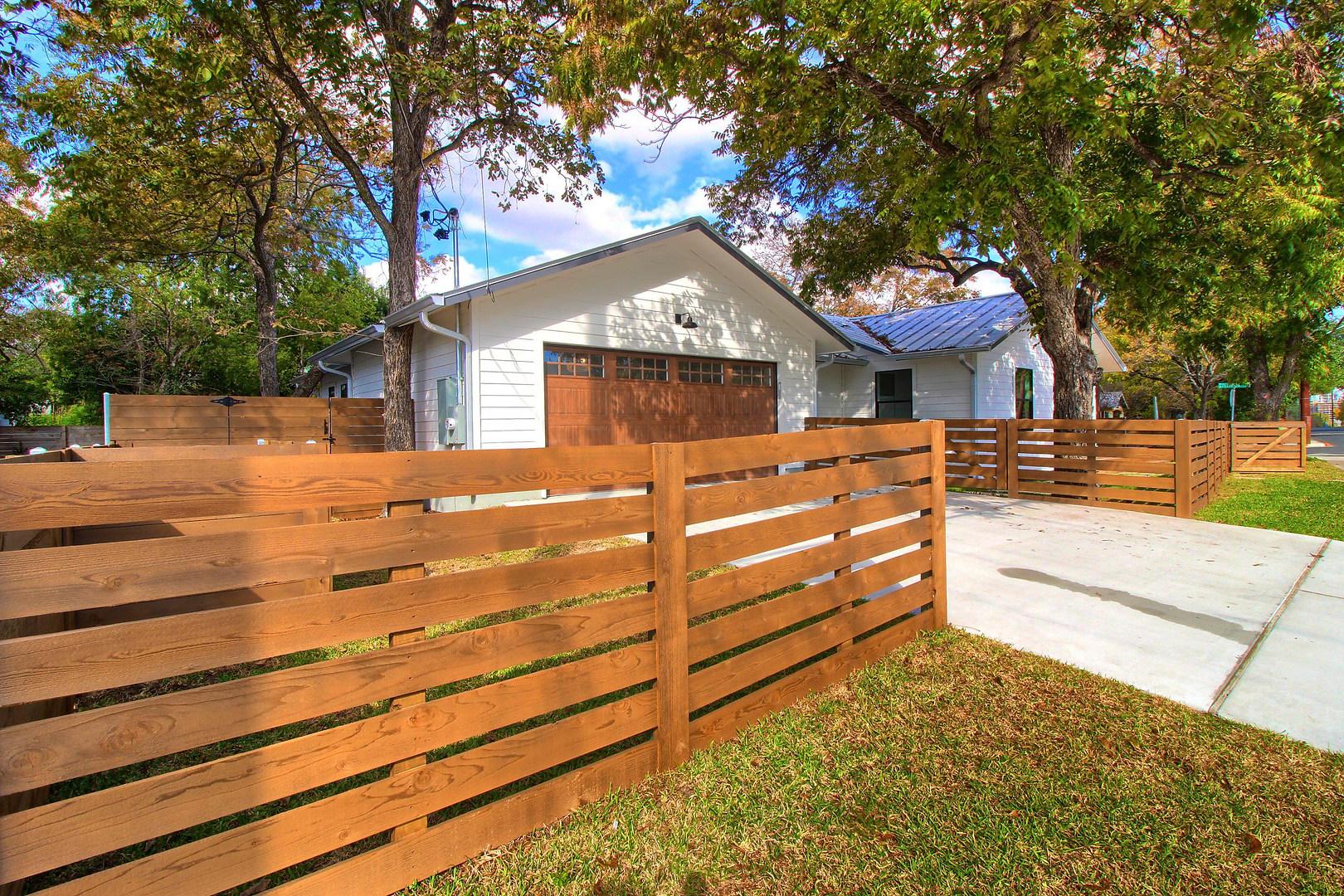 Home Renovation Front Gate on Bouldin in Austin, TX