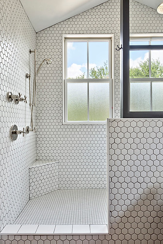 Historic Home Renovation Walk in Shower in West 11th in Austin, Texas
