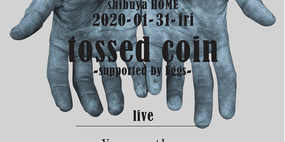 tossed coin