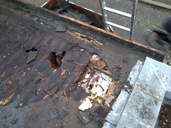 Herstellen van kapotte daken