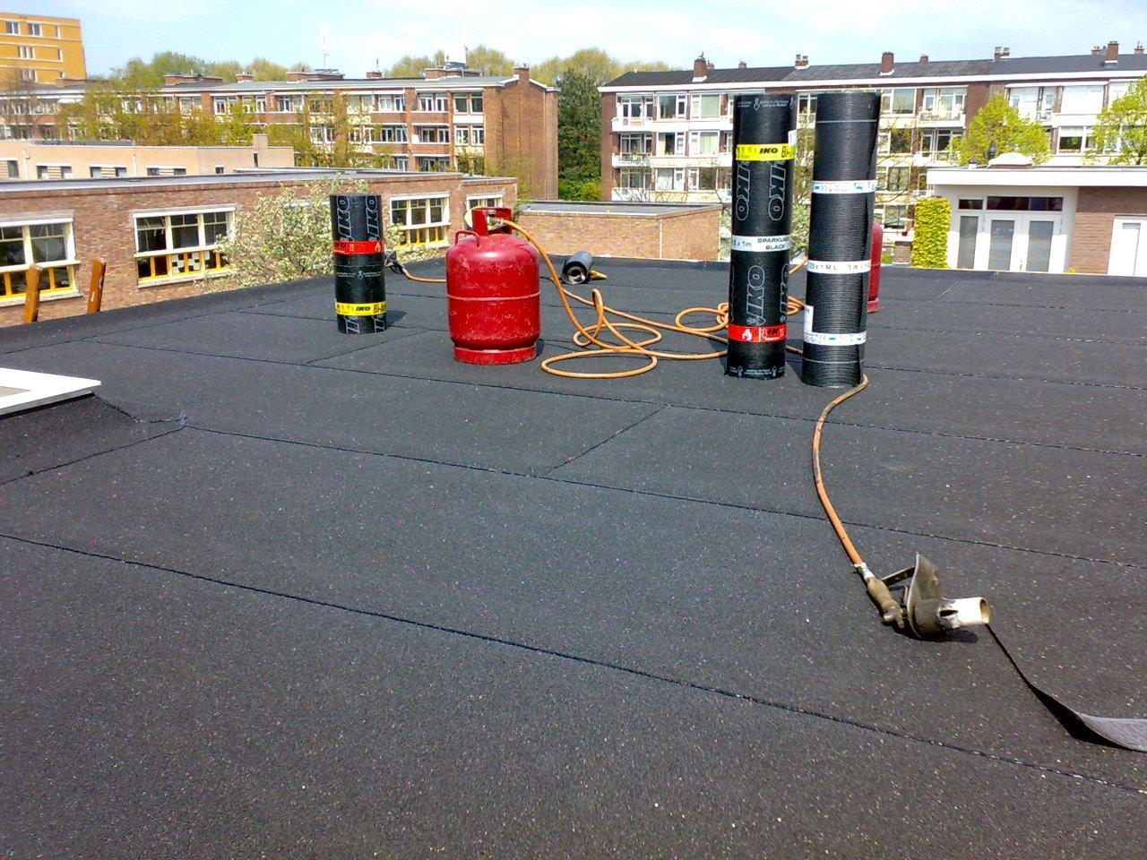 Nieuwe dakbekking