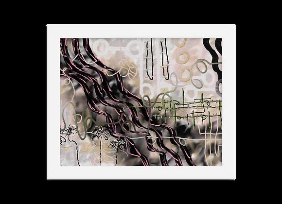 """Corena"" Framed Poster"
