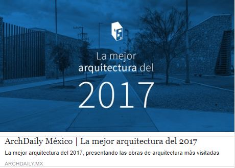 2017 archdaily mx