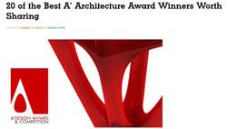 A'Design Award Casa PM Link