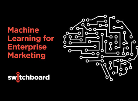 ML for enterprise marketing? It's all about the data