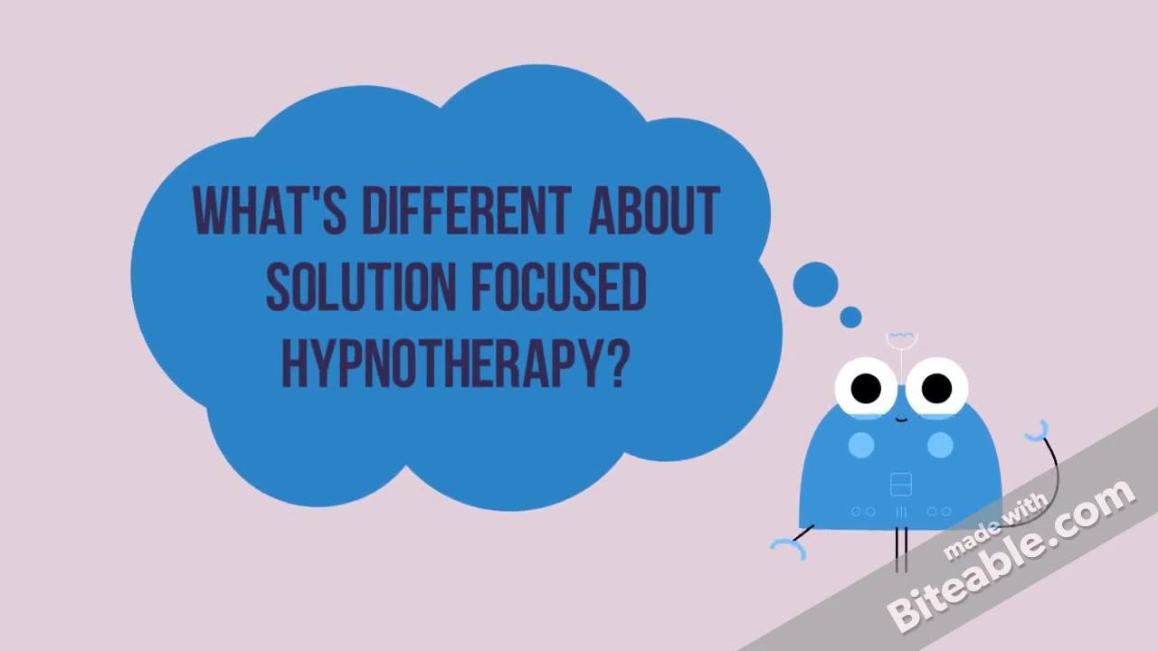 What's Different about Solution Focused Hypnotherapy?