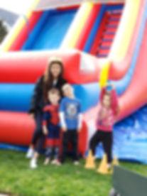 Family Bounce Slide