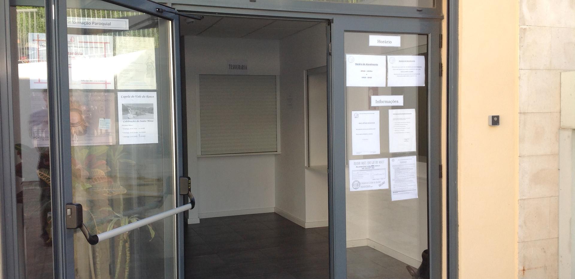Porta de entrada do Lar