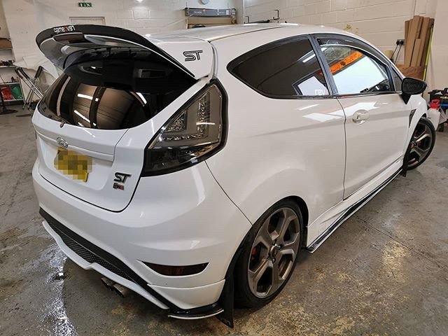 Awesome Fiesta ST that we had in before