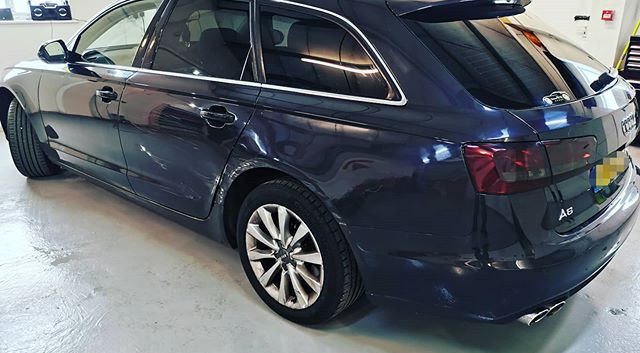 Audi A6 Avant after having some tints an
