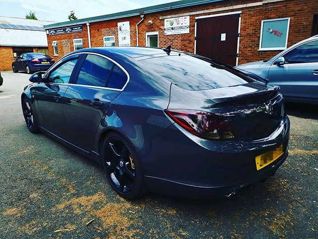 Lovely Insignia in today for rear tints