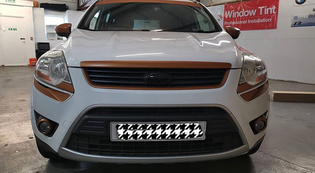 Kuga in for some more oracal copper matt