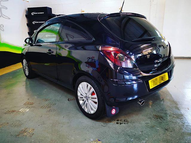 Cheeky little Corsa in for rear light da
