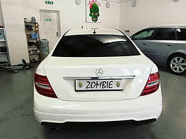 Beautiful Mercedes C Class in yesterday