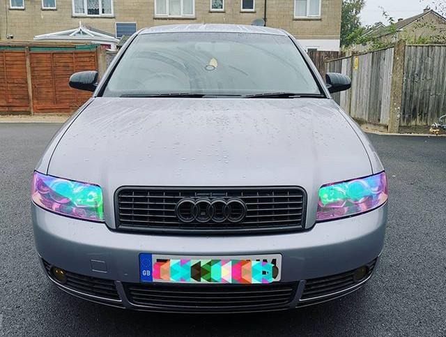 Chameleon headlight tints on my own car!